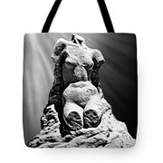 Aphrodite Of Milos Styled Sand Castle Tote Bag