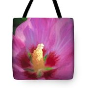 Aphrodite Rose Of Sharon Tote Bag