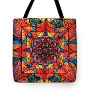 Aplomb Tote Bag by Teal Eye  Print Store