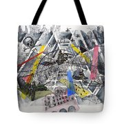 Apocalypse In Paradise 1  Tote Bag