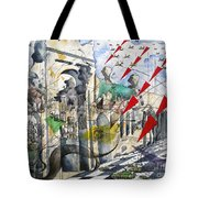 Apocalypse In Paradise 2  Tote Bag