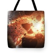 Apocalyptic Space Scene With An Tote Bag
