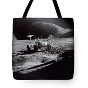 Apollo 15 Lunar Rover Tote Bag