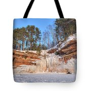 Apostle Islands Winter  Tote Bag