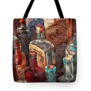 Apothecary - A Series Of Bottles Tote Bag