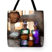 Apothecary - Oleum Rosmarini  Tote Bag by Mike Savad