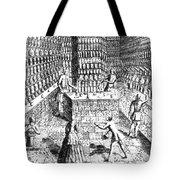 Apothecary Shop, 1688 Tote Bag