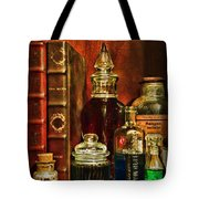Apothecary - Vintage Jars And Potions Tote Bag