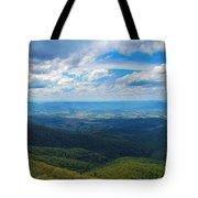 Appalachain Trail View Tote Bag