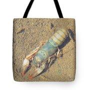 Appalachian Blue Crayfish Tote Bag