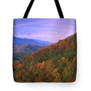 Appalachian Mountains Ablaze  Tote Bag