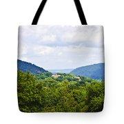 Appalachian Mountains West Virginia Tote Bag