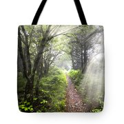 Appalachian Trail Tote Bag by Debra and Dave Vanderlaan