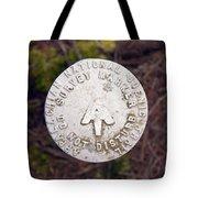 Appalachian Trail Historic Marker Tote Bag
