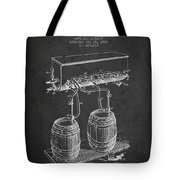 Apparatus For Beer Patent From 1900 - Dark Tote Bag