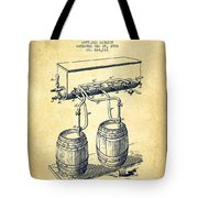 Apparatus For Beer Patent From 1900 - Vintage Tote Bag