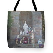 Apparition Of Virgin Mary Tote Bag