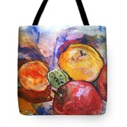 Appetite For Color Tote Bag by Sherry Harradence