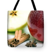Apple And Cinnamon Tote Bag