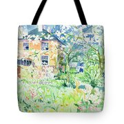 Apple Blossom Farm Tote Bag