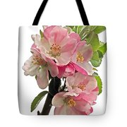 Apple Blossom Vertical Tote Bag