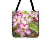 Apple Blossoms II Tote Bag