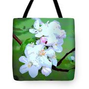 Apple Blossoms In The Spring - Painting Like Tote Bag