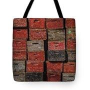 Apple Crates Tote Bag