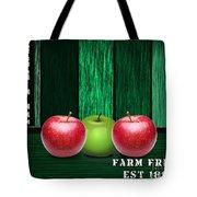 Apple Farm Tote Bag