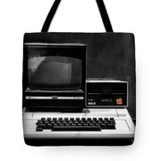 Apple II Personal Computer 1977 Tote Bag by Bill Cannon