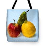 Apple - Lemon - Pear Tote Bag