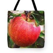 Apple On The Tree Tote Bag