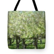Apple Orchard Tote Bag