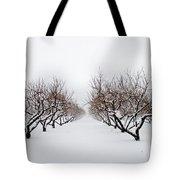 Apple Orchard Tote Bag by Ken Marsh