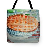 Apple Pie With Lattice Crust Tote Bag