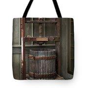 Apple Press Tote Bag