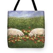 Apple Sows Tote Bag