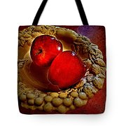 Apple Still Life 2 Tote Bag