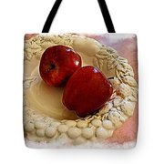 Apple Still Life 3 Tote Bag