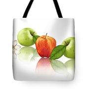 Apple Story Tote Bag