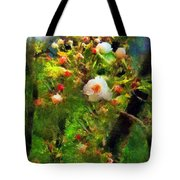 Apple Tree In April Tote Bag