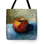 Apple With Olive And Grey Tote Bag