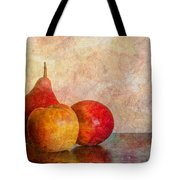 Apples And A Pear Tote Bag