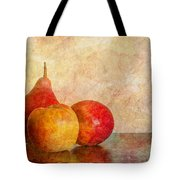 Apples And A Pear II Tote Bag