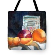 Apples And Oranges Tote Bag by Mohamed Hirji