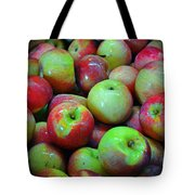 Apples Apples And More Apples Tote Bag