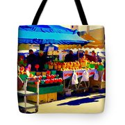 Apples Cortlands Lobos Honey Crisps Mcintosh Atwater Market Apple Fruit Stall Foodart Carole Spandau Tote Bag