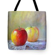 Apples On A Table Tote Bag