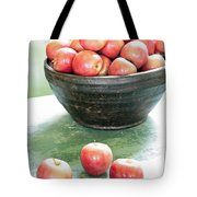 Apples On The Table  Tote Bag
