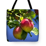 Apples On Tree Tote Bag
